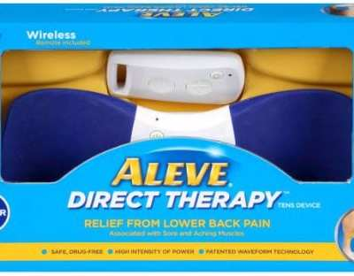 Aleve Direct Therapy TENS Device to Relieve Lower Back Pain Review