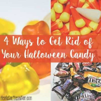 4 Ways To Get Rid of Your Halloween Candy