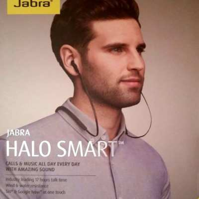 All new Jabra Halo Smart Wireless Stereo Earbuds