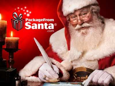 Get a Personalized Package From Santa Claus