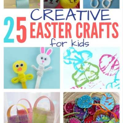 25 Creative Easter Crafts for Kids