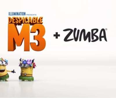 Despicable Me 3 Hits Theaters, June 30th + a new Zumba Fitness Remix