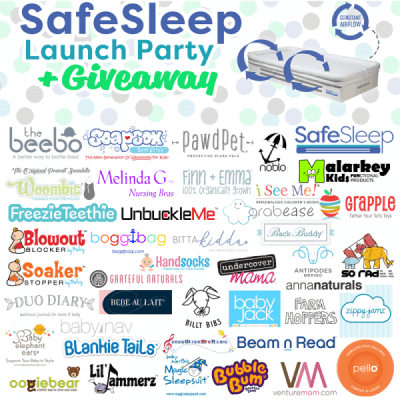 SafeSleep Breathe-Through Crib Mattress Giveaway