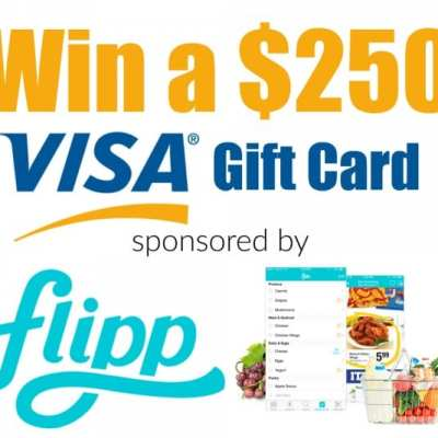 Win a $250 Visa Gift Card Sponsored by Flipp – Ends 3/16