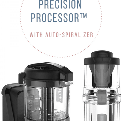 The Ninja Precision Processor with Spiralizer