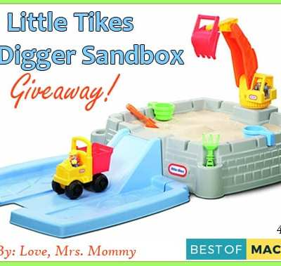 Win the Little Tikes Big Digger Sandbox Giveaway! – Perfect for Summer Fun!