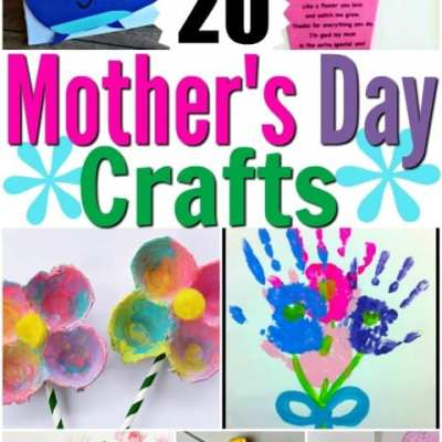 20 Mother's Day Crafts from Kids