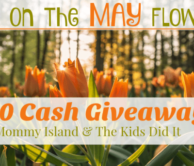 Win big in the $250 Bring On the MAY Flowers Cash Event!