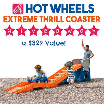 Step2 Extreme Thrill Coaster Giveaway! Ends 8/27
