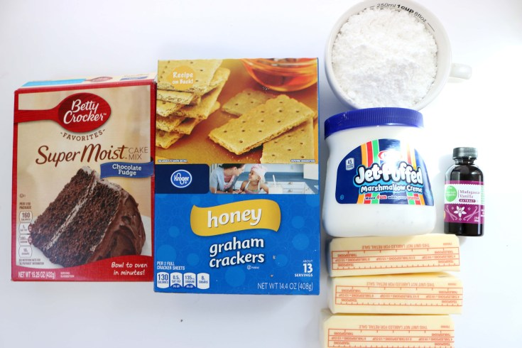 smores cupcake ingredients