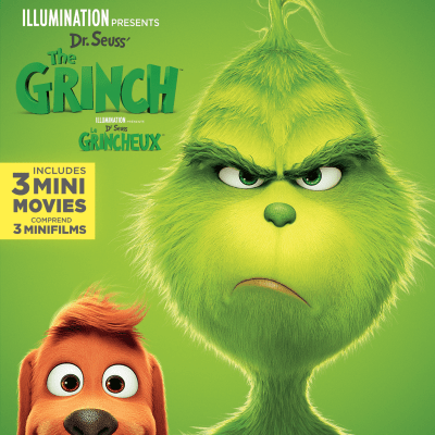 Dr. Seuss' The Grinch on Digital 1/22 and Blu-ray 2/5