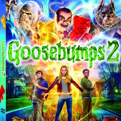GOOSEBUMPS 2 on DVD & Blu-ray! #Goosebumps2