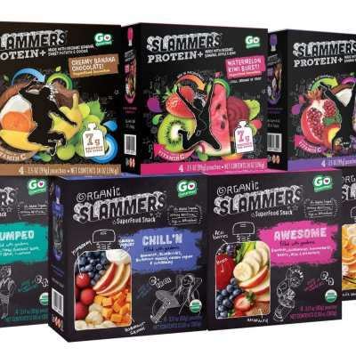 Back to School with Slammers Snacks for Kids