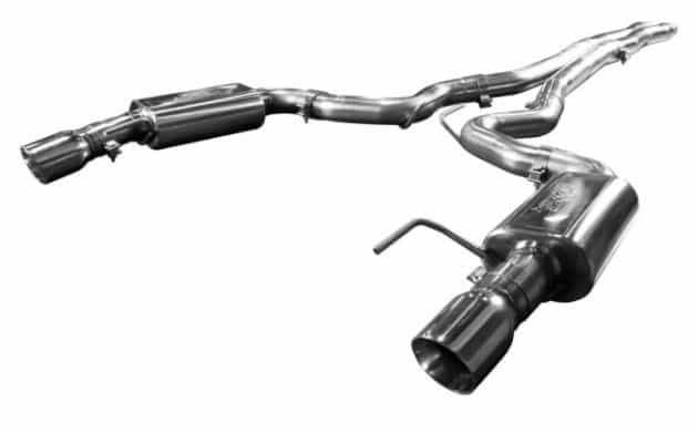 2015-2018 Ford Mustang GT KOOKS Catback OEM Exhaust With X