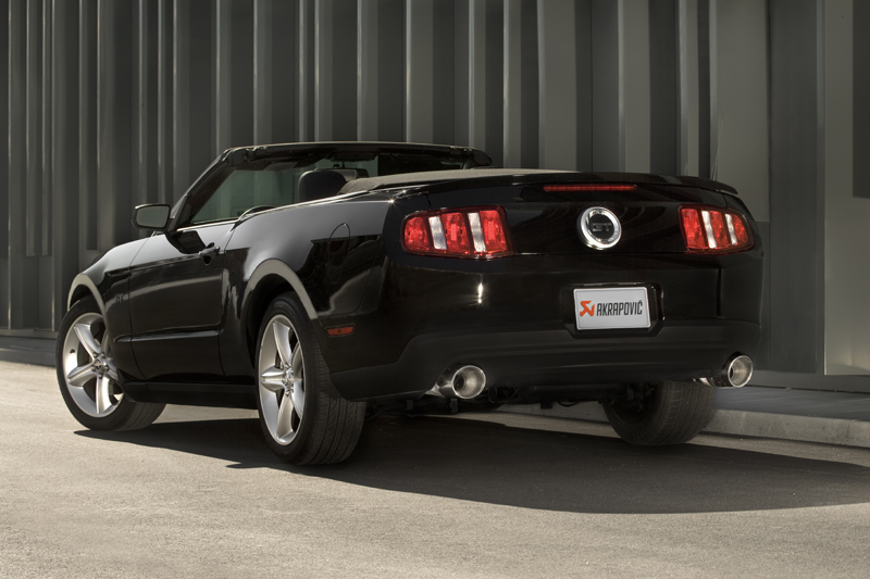 ford mustang gt akrapovic evolution exhaust