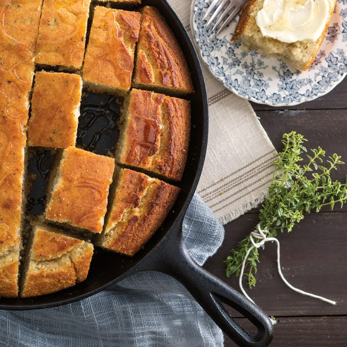 Brown Butter and Thyme Cornbread