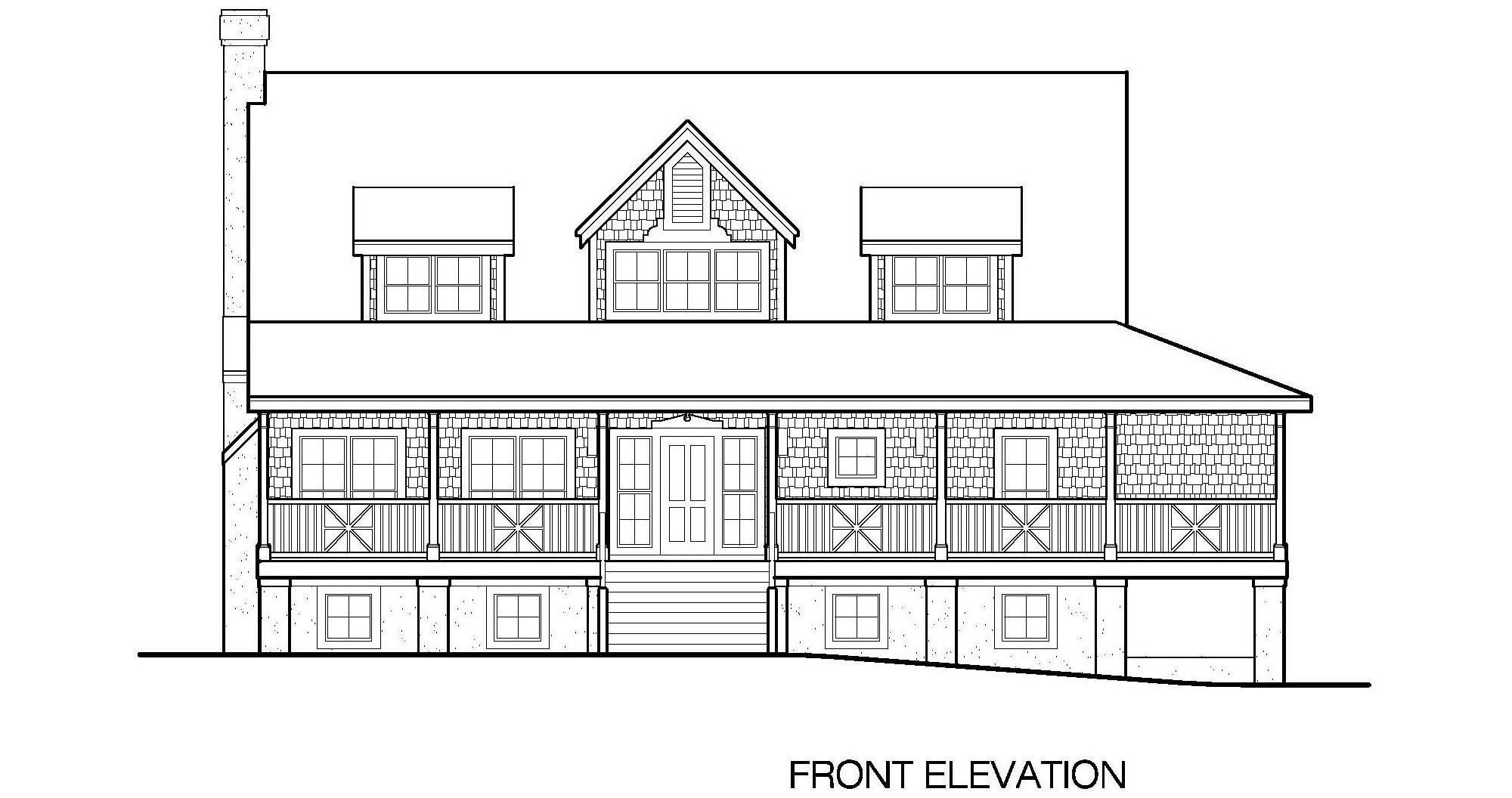 Front Elevation Basements : Fresh old southern plantation house plans floor ideas