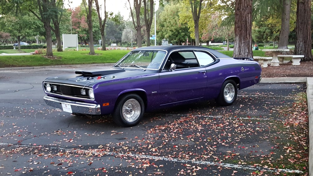 medium resolution of 1970 plymouth duster sold