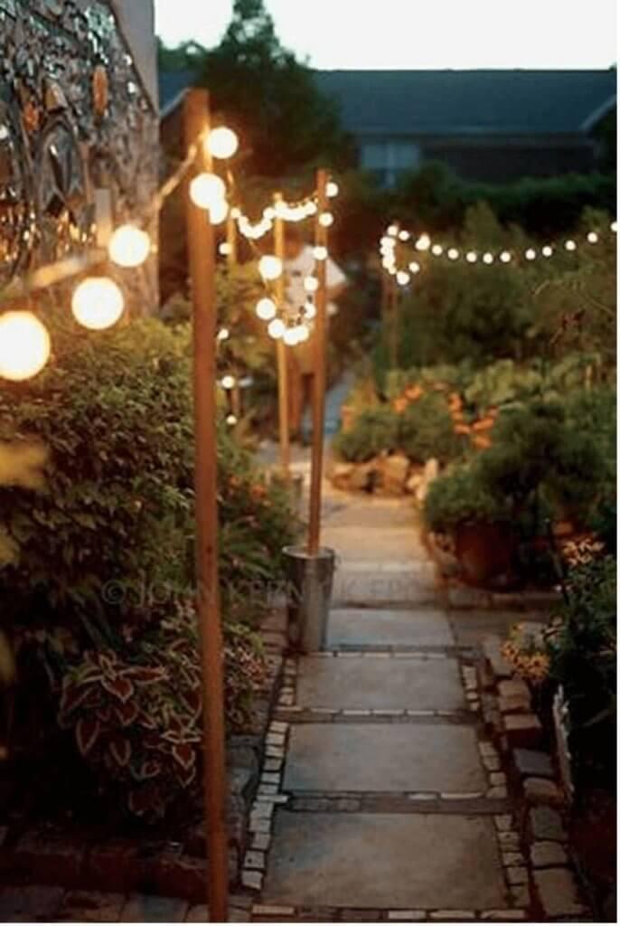 curtains diy patio string light