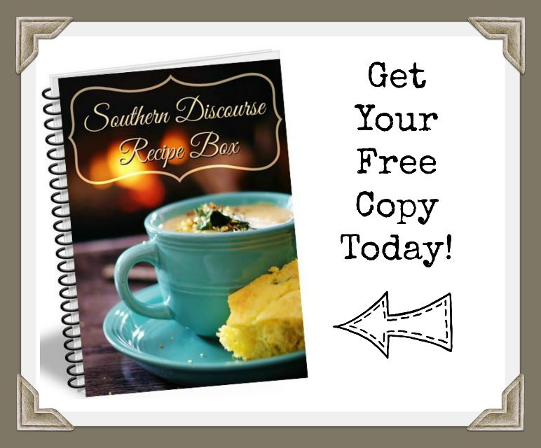 Get your FREE winter edition of A Southern Discourse Recipe Box, a downloadable ebooklet containing 5 of our most requested soup and one pot meal recipes.  These fan favorites are the perfect winter dish when nothing but good comfort food will do.
