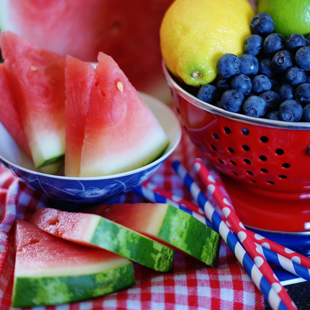Summery watermelon sparklers for july th a southern