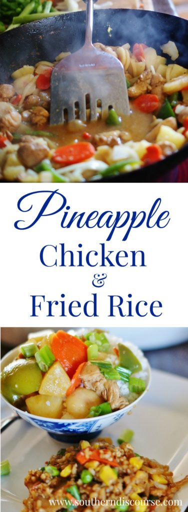Wrestling legend Phil Hickerson shares his authentic Hawaiian/Asian inspired recipe for Pineapple Chicken & Fried Rice.