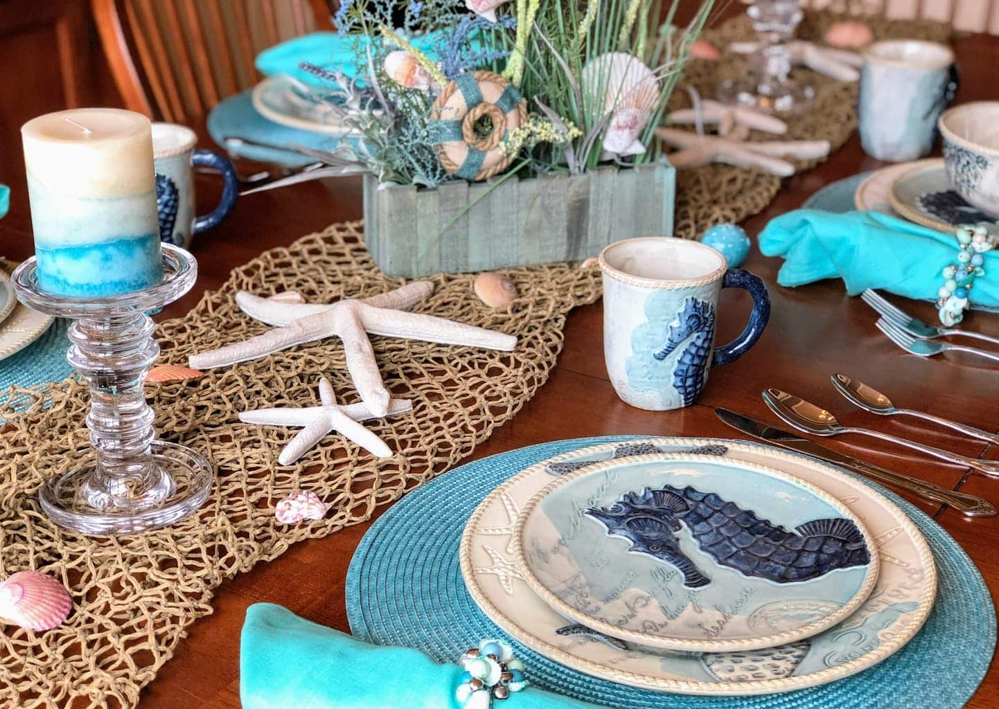 beach themed kitchen decor dinette set decorating ideas trendyexaminer