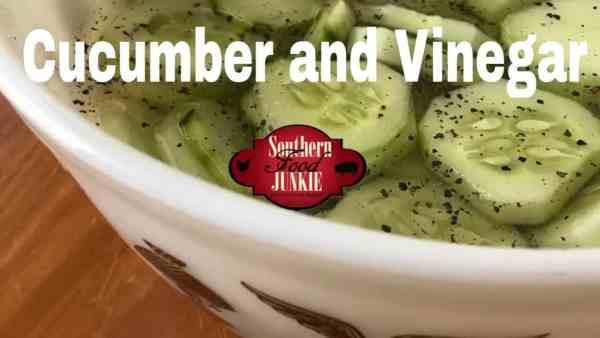 Cucumber and Vinegar