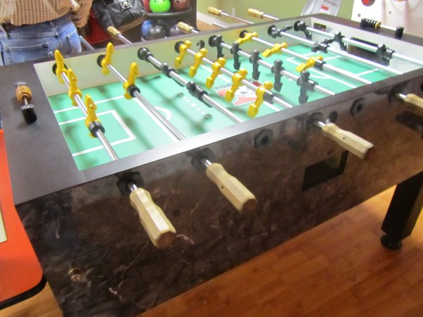 Used Tornado Foosball Table Home Model & Parts