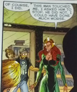 Mera doesn't take crap from anyone. DC Comics.