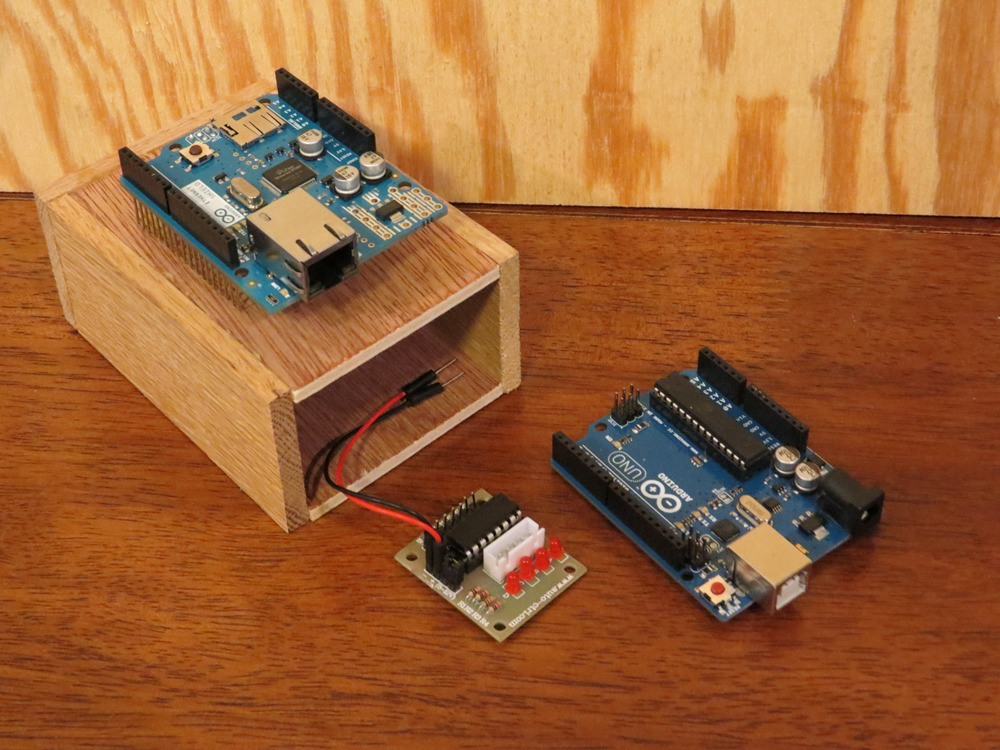 Arduino project log building the sea leveler part