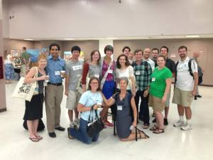 """A """"tweetup"""" of the live-tweeters at the 2013 Joint Meeting of Ichthyologists and Herpetologists"""