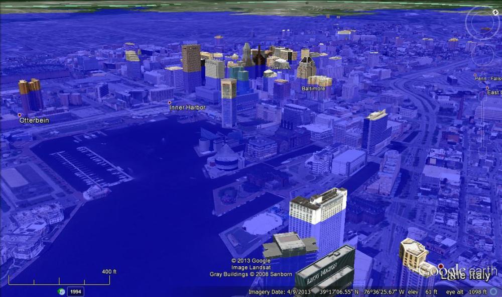 Baltimore, 80 meters