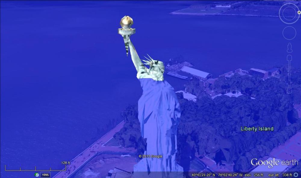 Statue of Liberty, 80 meters