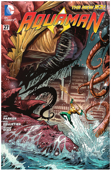 Aquaman #27. DC Comics.