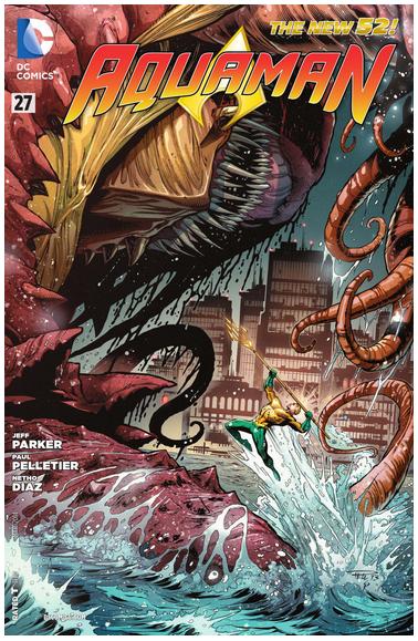 Aquaman #27. DC Comics.