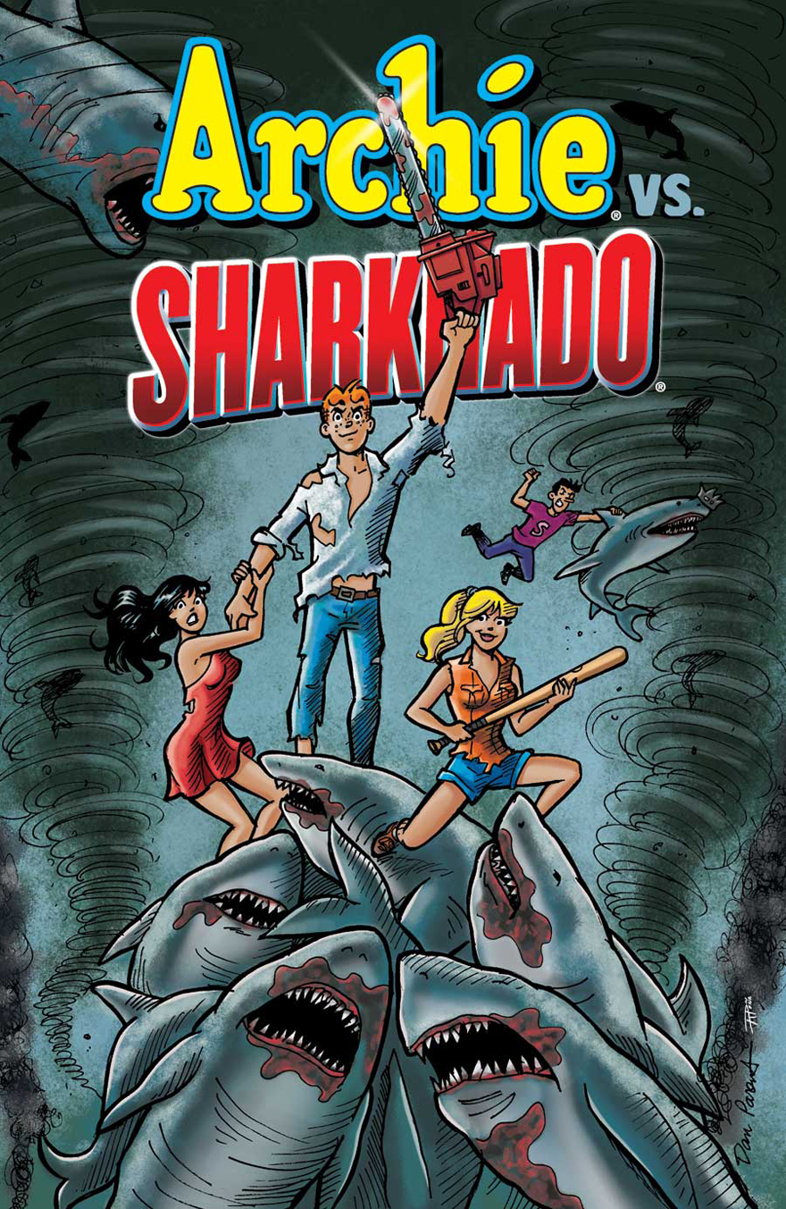 Archie vs. Sharknadoe.