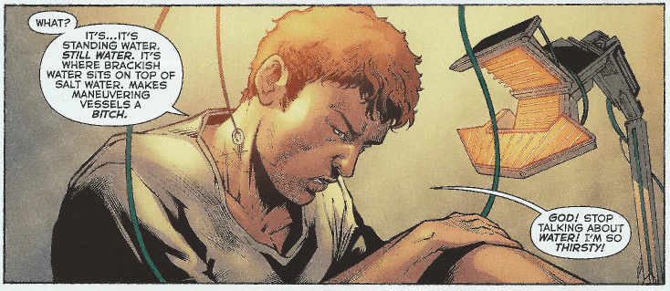Dead Water. From Aquaman #51.