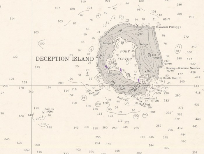 Deception Island to King George Island