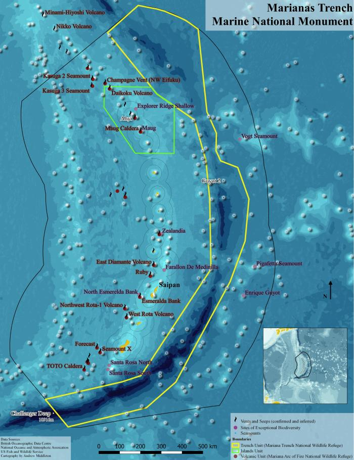 The Mariana Trench Monument