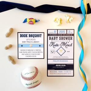 Southern Glam Weddings & Events A Tampa Bay Rays Baby Shower