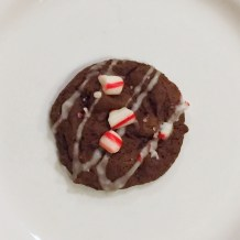 Christmas Chocolate Peppermint Cookie