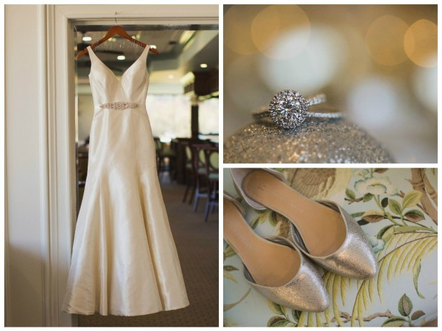 Southern Glam Winter Southern Country Club Wedding in Valdosta