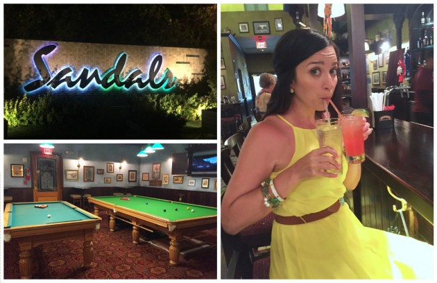 Southern Glam Weddings & Events Sandals Barbados Merry Monkey Pub