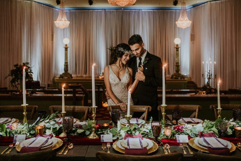 Vintage Glam Wedding Tampa