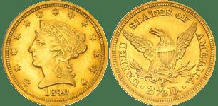 1840-O Quarter Eagle
