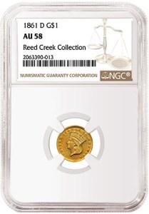 1861 D $1