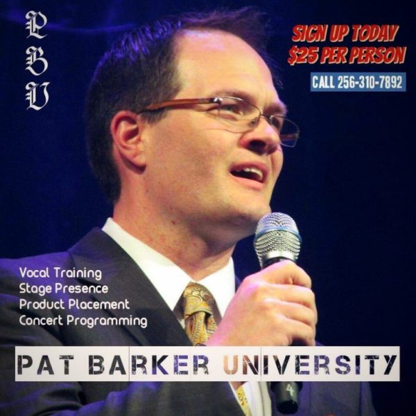 Pat Barker University at Southern Gospel Weekend