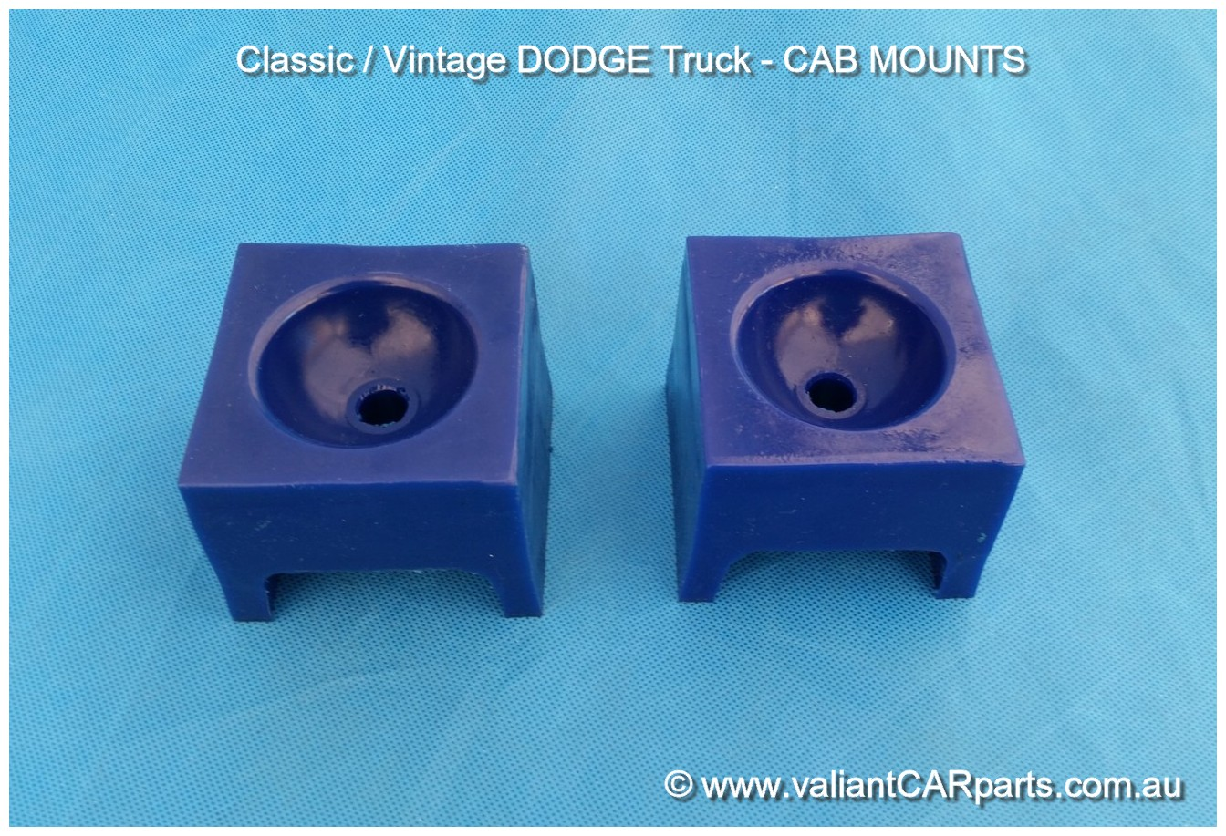 small resolution of australian dodge truck main cab mounts pair ih truck at4 d5n