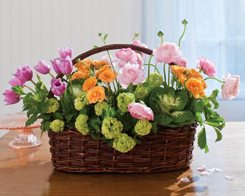 5 easter floral arrangements